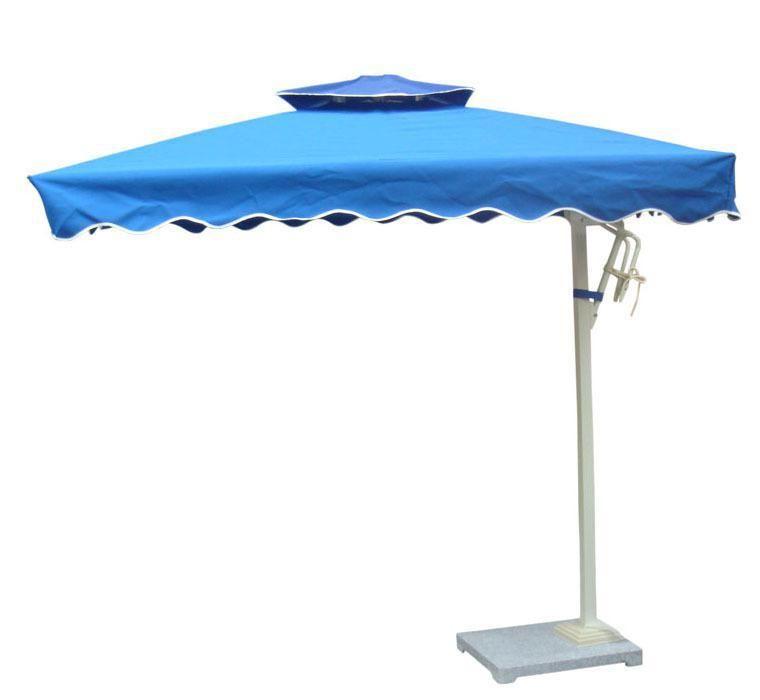 铝合金边柱伞设计