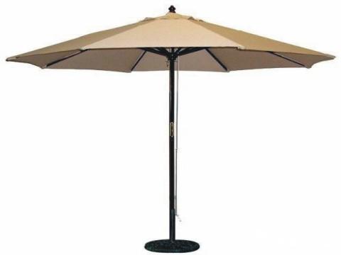 中柱伞安装
