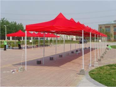 活动帐篷安装
