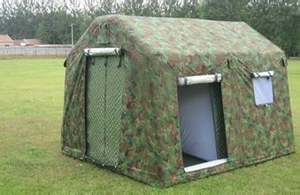 军用帐篷安装