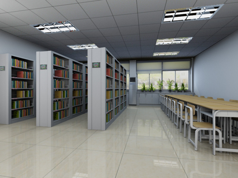 圖書館書柜