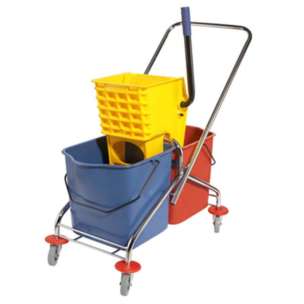 保洁设备-双桶榨水车