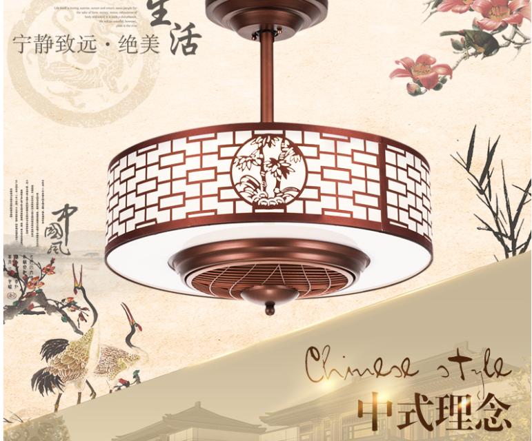广西中式风扇灯