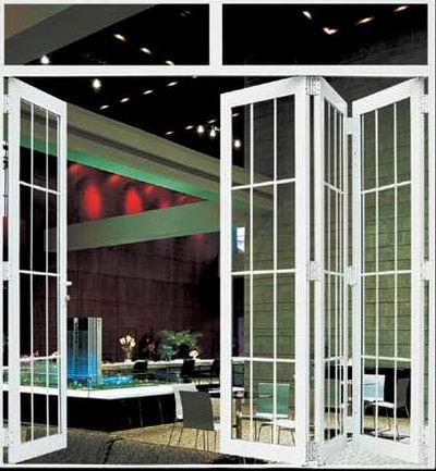 玻璃钢折叠门