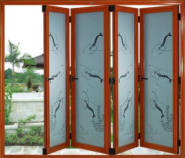 五扇折叠门