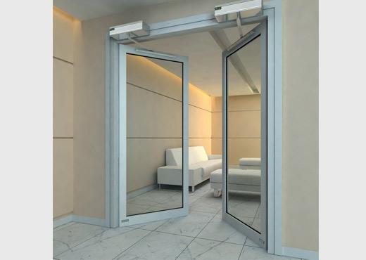 中式玻璃钢门