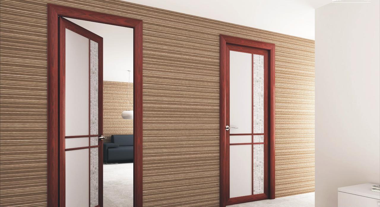 铝木复合门
