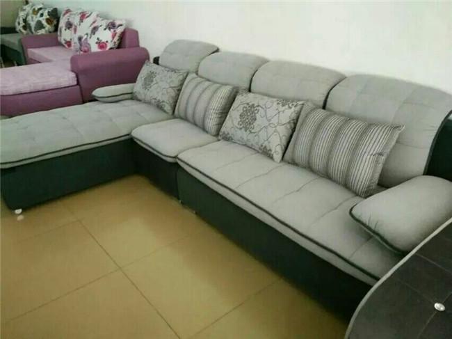北海布艺沙发