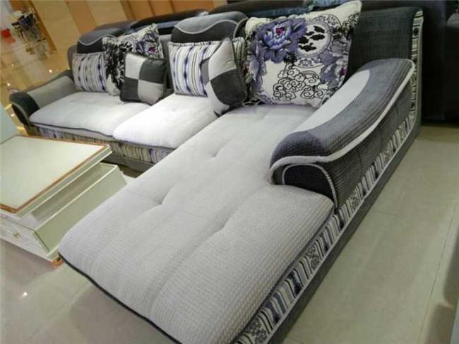 北海欧式布艺沙发