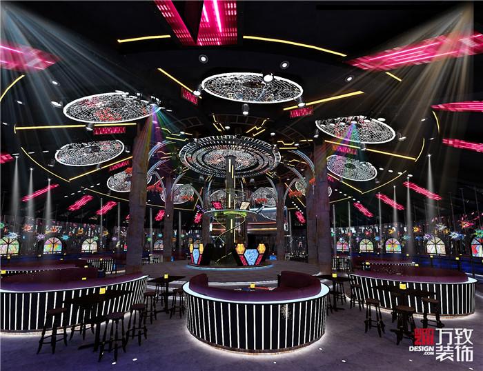 横县旺巢娱乐城四楼星级酒吧