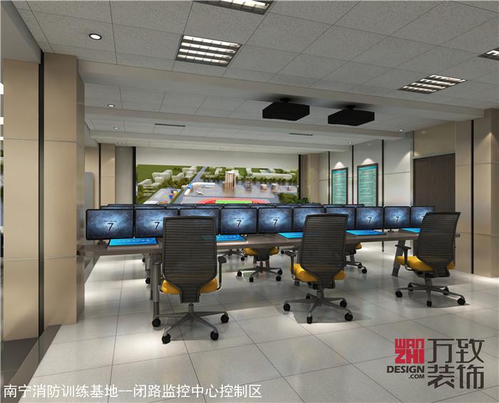 南宁消防训练基地塔楼装修