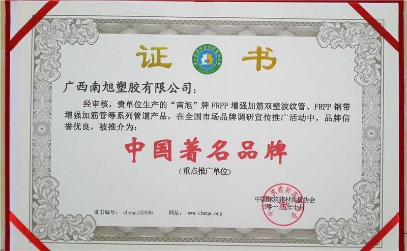 中国著名品牌2015.10