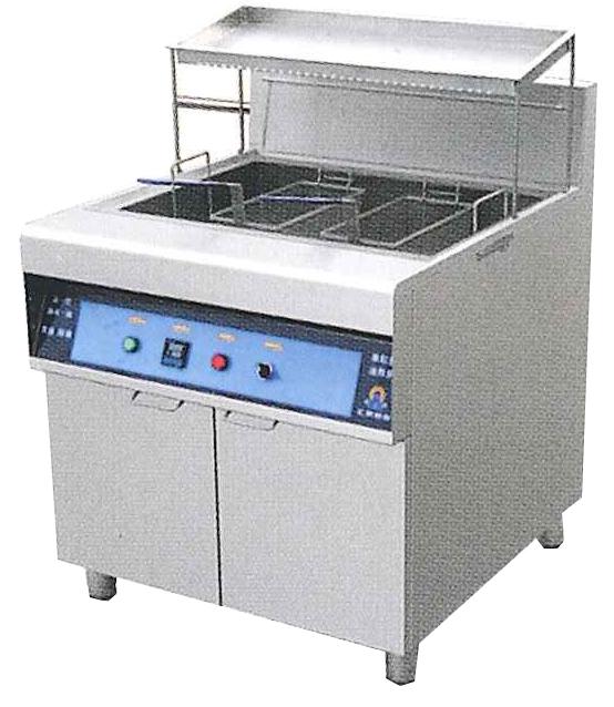 节油型单缸筛油炸炉