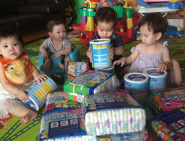 苏州童玥捐赠奶粉、纸尿裤价值8.8万元