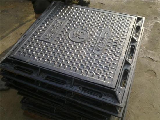 铁岭球墨铸铁方形井盖