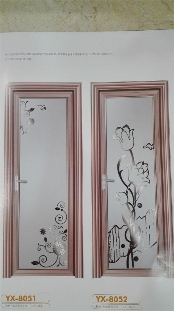 卫生间门安装