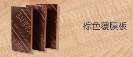 棕色覆膜板