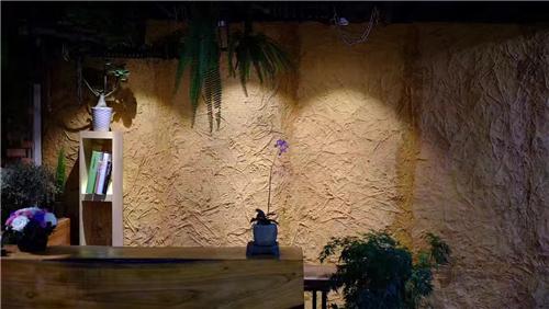 仿真植物墙培训环境