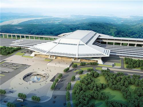 云南柳州市火車西客站