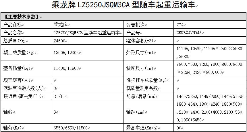 乘龙牌LZ5250JSQM3CA型随车起重运输车主要技术参数.jpg