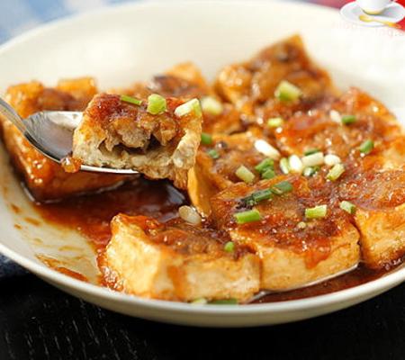客家豆腐酿