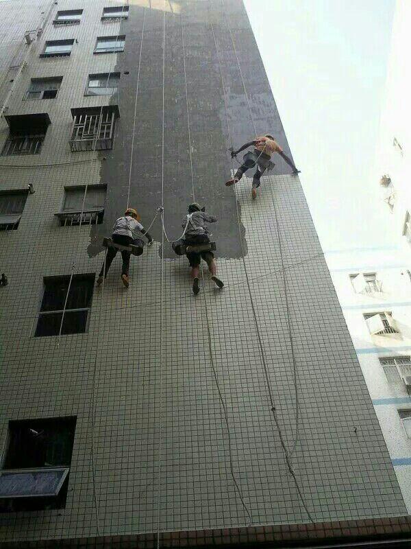 翻新高空外墙