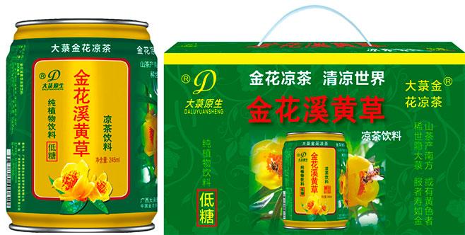 云南广西大录金花茶凉茶饮料
