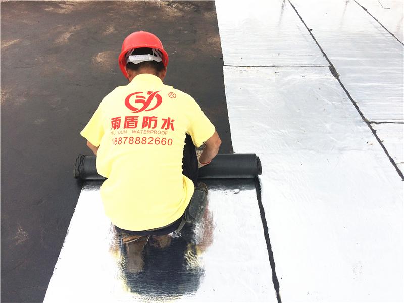SBS改性瀝青防水卷材施工