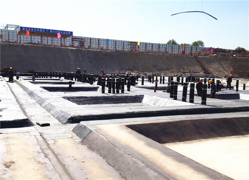 地下室SBS APP改性瀝青防水卷材施工