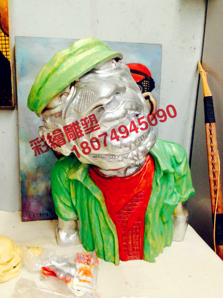 钦州南宁人物写实雕塑