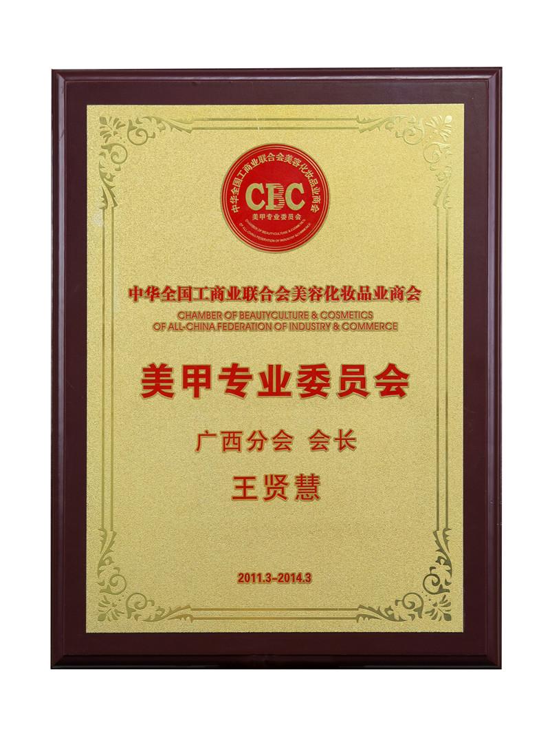 2011-2014年会长荣誉