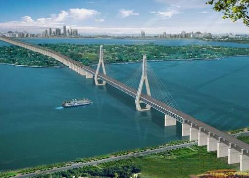 武汉天兴洲长江大桥