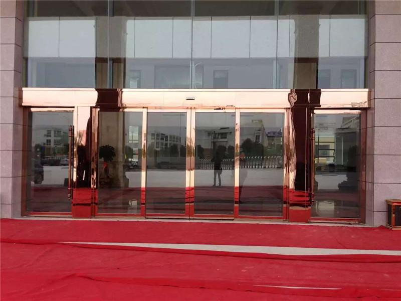 广西办公大楼自动门