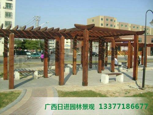 桂林防腐木廊架厂家