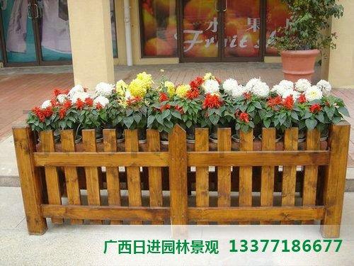 桂林防腐木花箱价格