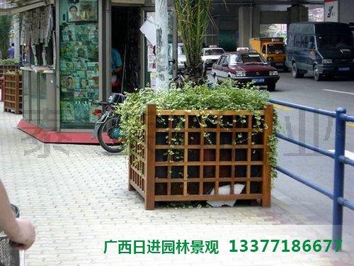 柳州防腐木花箱销售