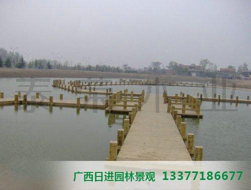 南宁防腐木桥