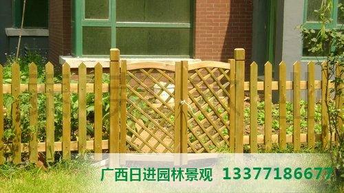 柳州木栅栏门价格