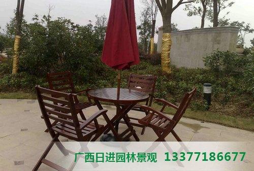 桂林防腐木桌椅批发