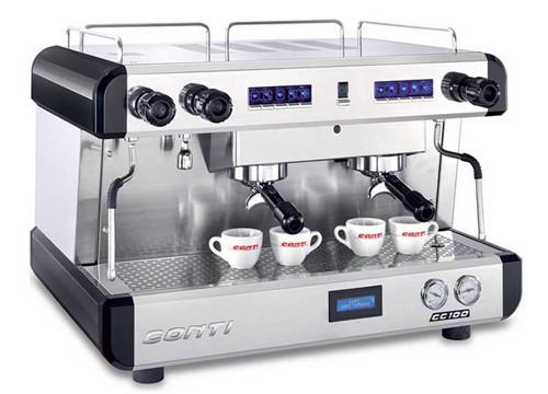 百色半自动咖啡机Conti CC102 DTC 2G 白色