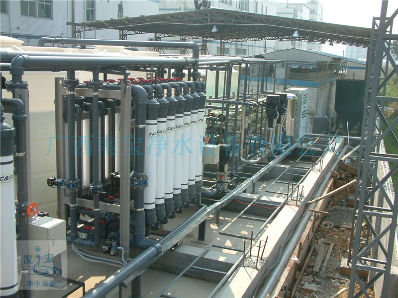 36吨每小时中水回用系统