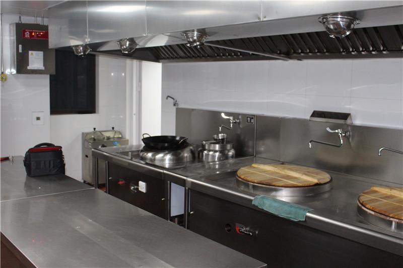 厨房设备灭火装置安装