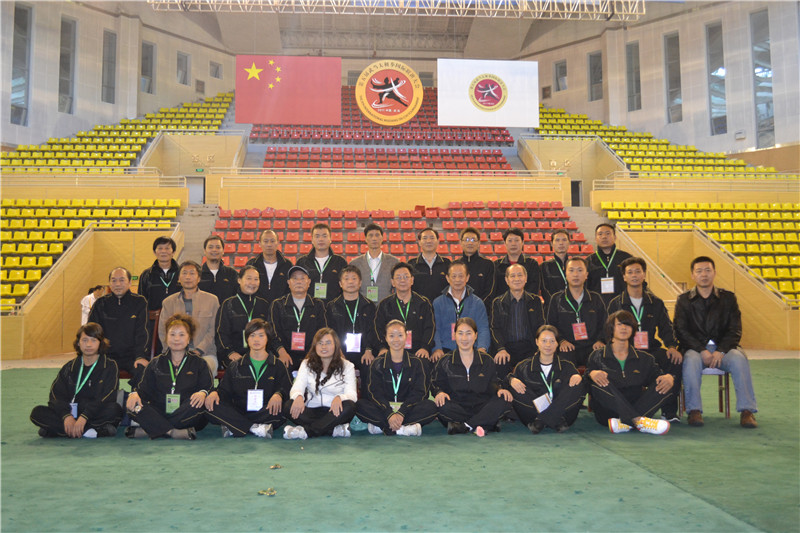 张惠斌总经理参加武当山第五届世界太极拳联谊大会裁判工作