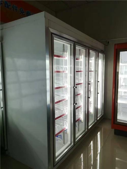 平头风冷饮料柜分体机 (1)