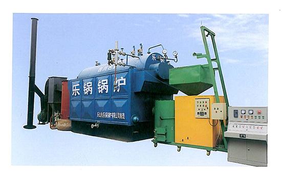 DZS系列卧式生物质气化燃烧蒸汽锅炉