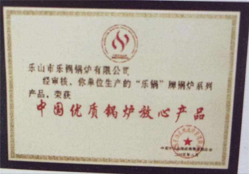 中国优质锅炉放心产品