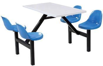 小靠背四人餐桌