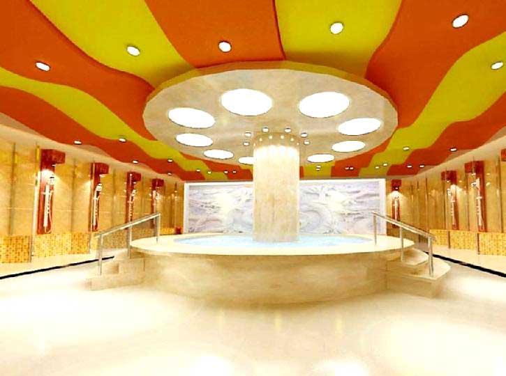 酒店洗浴透光软膜厂家