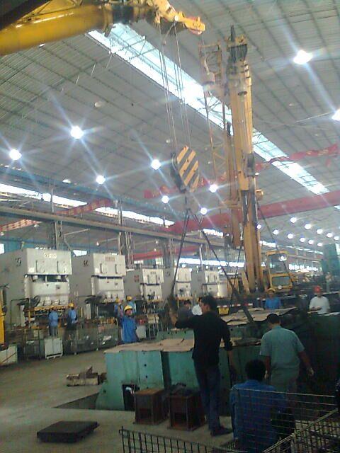 柳州工廠搬遷服務,柳州設備安裝服務