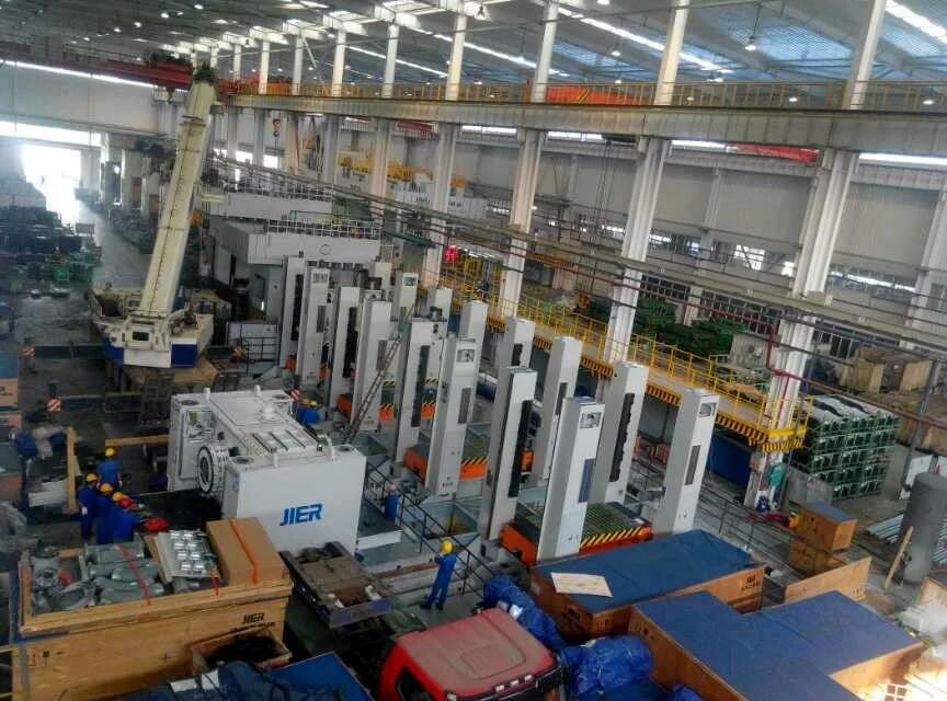 柳州五菱沖壓生產線安裝